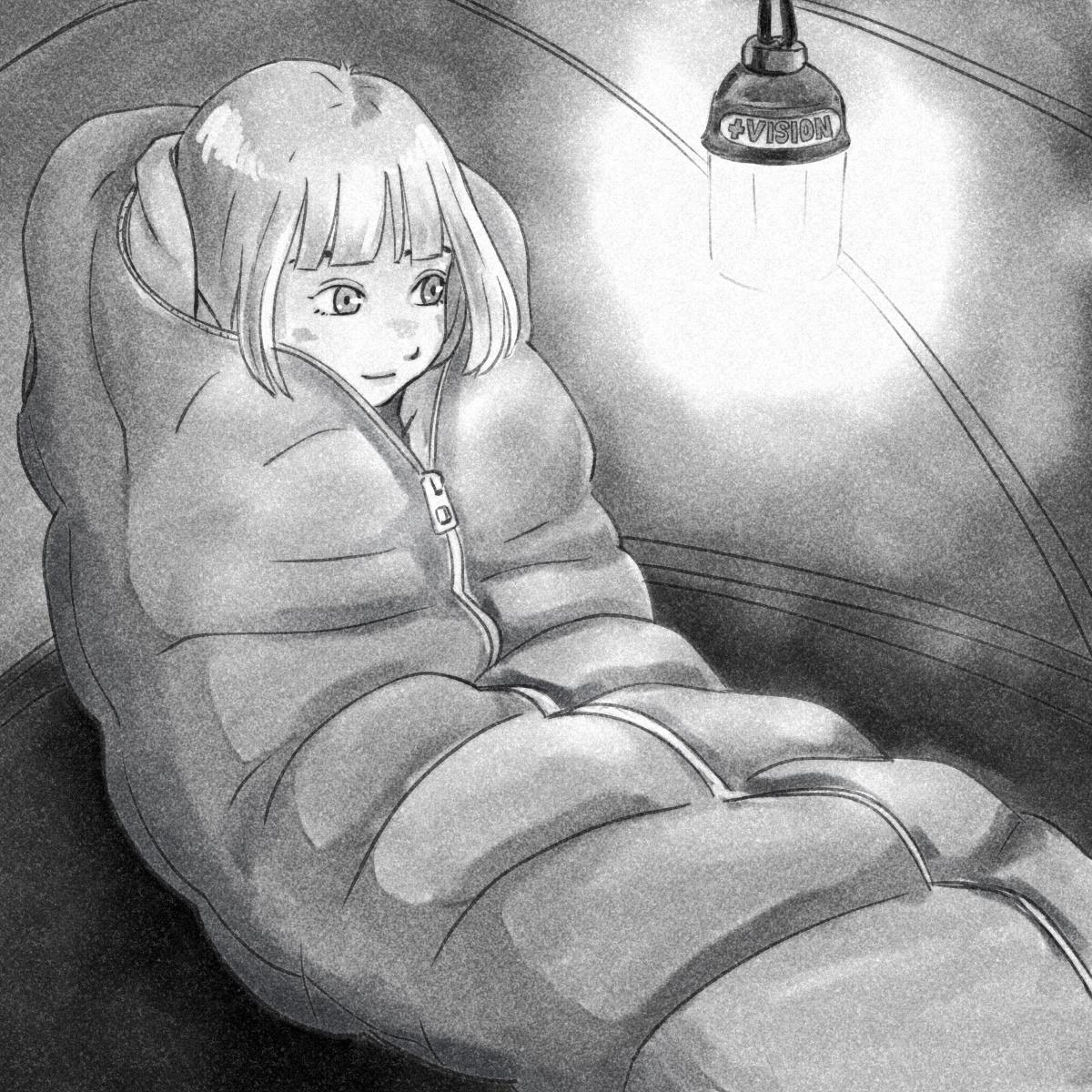 極寒でも快適睡眠、快適性を向上させた寝袋