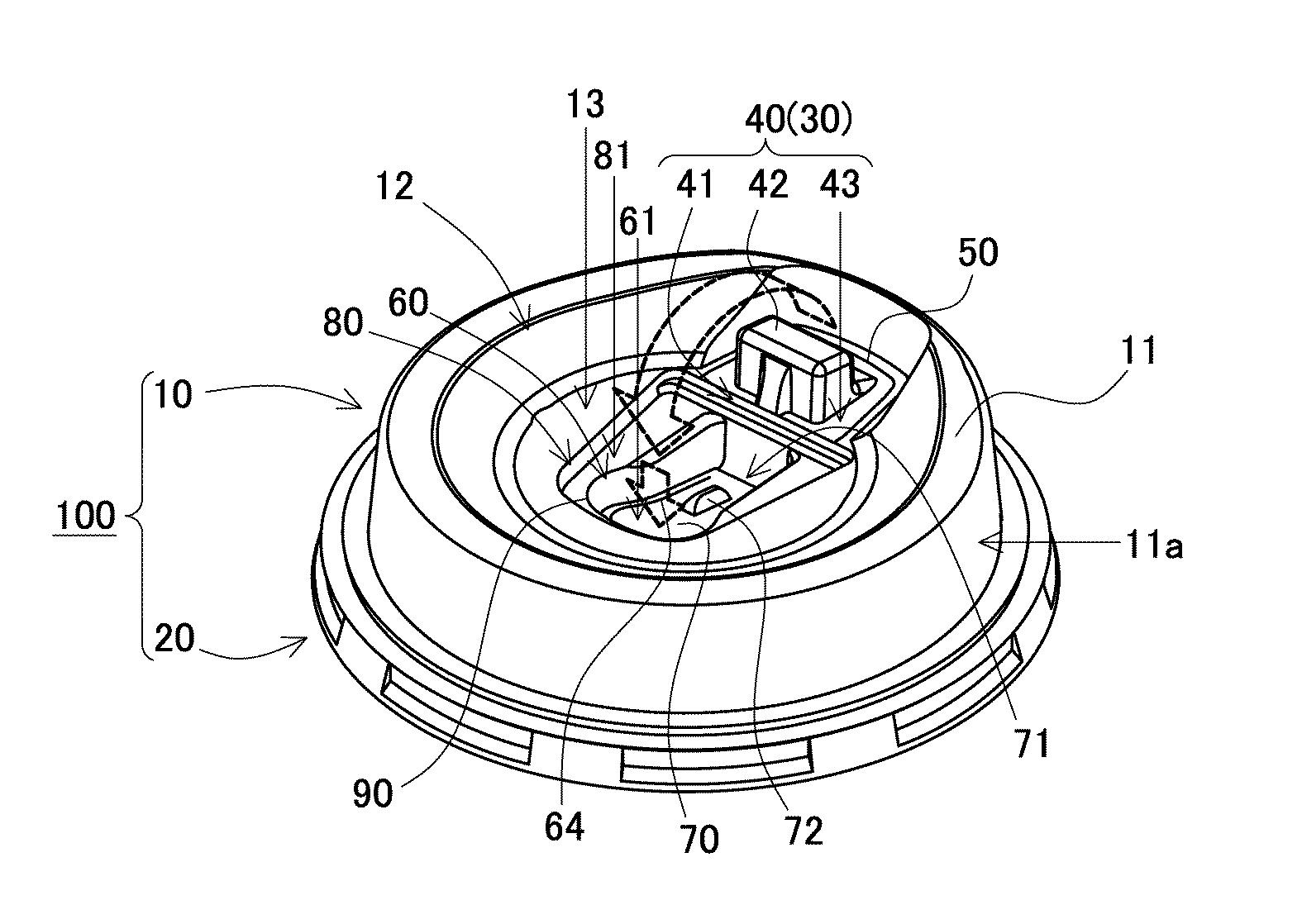 ローソン蓋特許マチカフェ